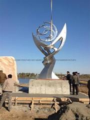 天津不锈钢雕塑