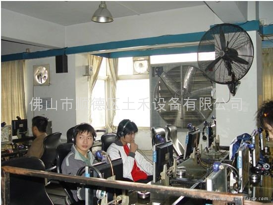 網吧專用低噪音風機 2