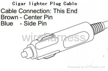 点烟器充电线 电烟器转接线 1