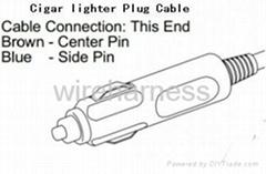 点烟器充电线 电烟器转接线
