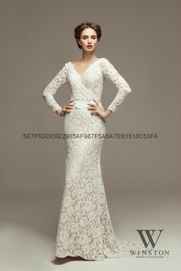 2014winston新款婚紗 1