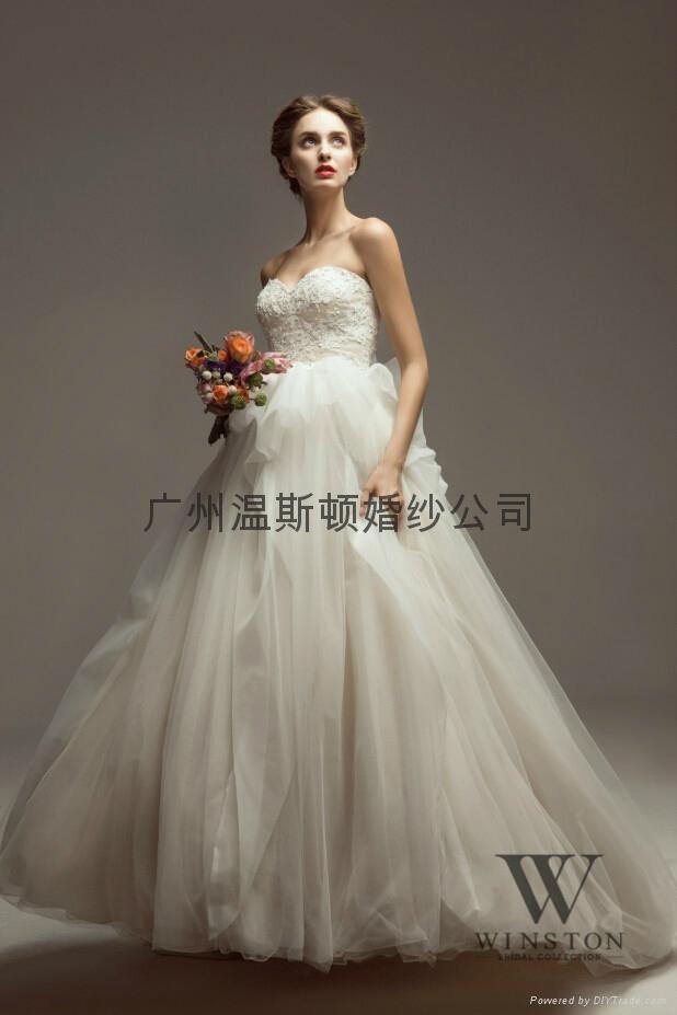 2014winston新款婚紗 2