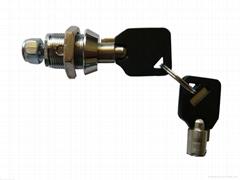 Tubular cam lock