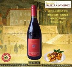 意大利美第奇别墅干红葡萄酒