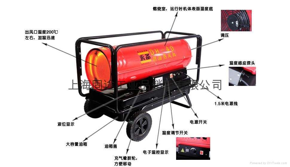 Industrial Fan Heater /  industrial electrical heater 5