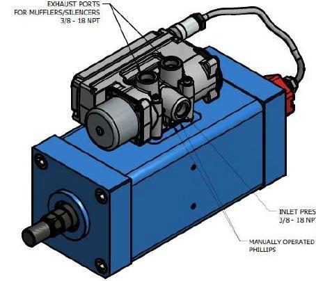 气动伺服作动器 1