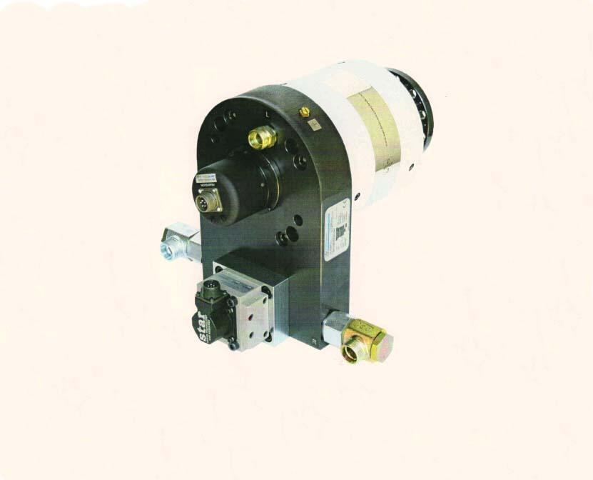 电液伺服扭转作动器(伺服摆动缸) 1