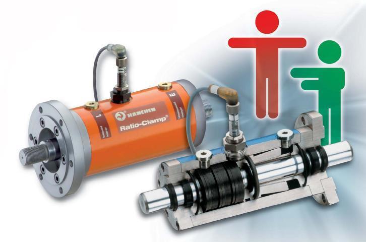 帶有機械液壓鎖緊裝置的油缸 2