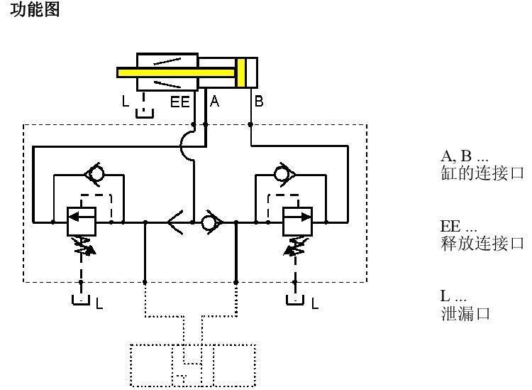 带有机械液压锁紧装置的油缸 3