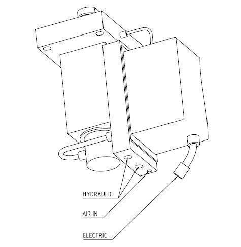 结晶器振动液压缸图片