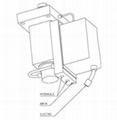 結晶器振動液壓缸 4