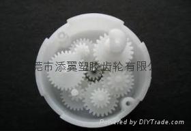 精密塑胶齿轮箱牙箱 1