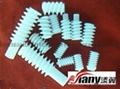 塑胶精密内螺纹蜗杆(猪肠牙) 4