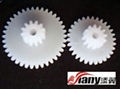 Plastic double gear