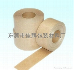 有线湿水牛皮胶纸