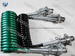 7芯接插件拖车连接螺旋线