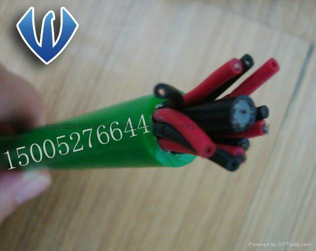 PUR防海水耐低温电缆 3