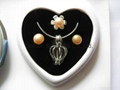 Love Pearl in Necklace+Earring+Ring 3