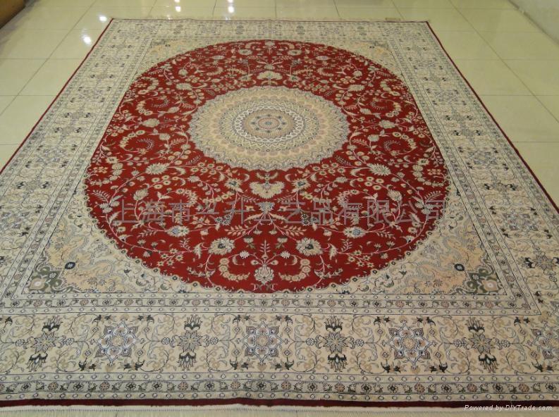 上海手工丝毯 3