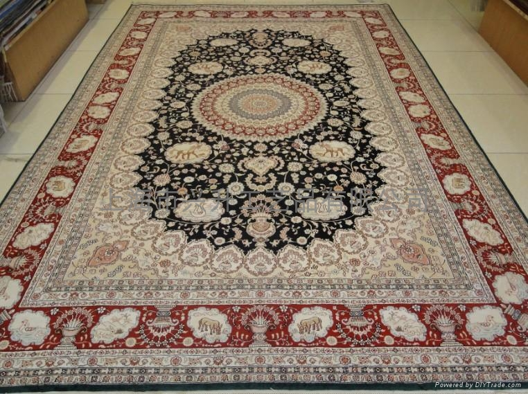 手工真丝地毯 4