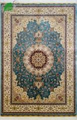 亿丝东方丝毯手工真丝波斯地毯