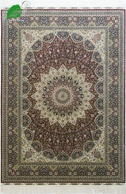波斯手工真丝地毯 1