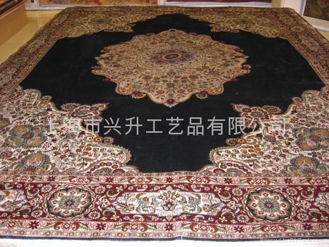 上海手工丝毯 1