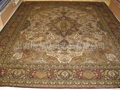 手工編織客廳地毯