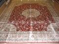 手工编织波斯地毯