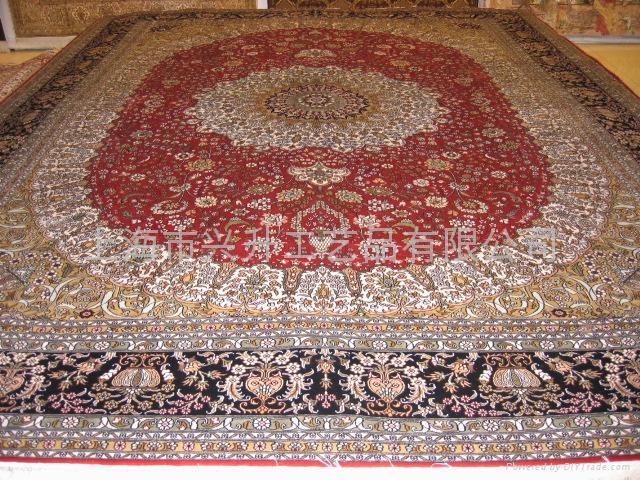 手工真丝地毯 1