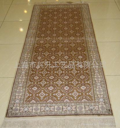 手工丝绸地毯 1