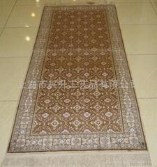 手工丝绸地毯