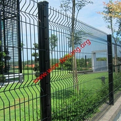 hot dipped galvanized or powder coating welded peach post fence factory