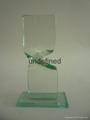 玻璃獎杯 2