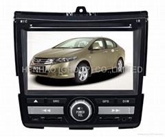 in dash auto dvd for FAN/CITY HD800*480