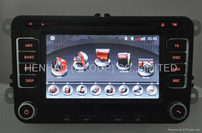 7019 Speical car dvd player for VW  3