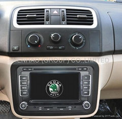 7019 Speical car dvd player for skoda