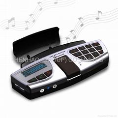 方向盘蓝牙mp3 方向盘蓝牙车载MP3播放器