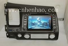 KR9994 Car GPS Navigation System DVD Player For HONDA CIVIC