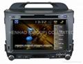 HD 7 GPS car DVD player for KIA Sportage R 2011