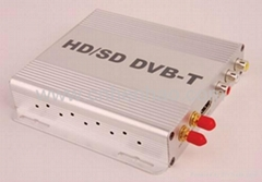 999B ISDB-T\DVB-T\ATSC CAR DIGITAL TV BOX