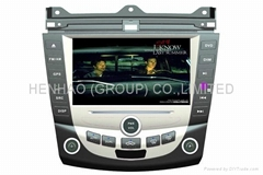 Car GPS Navigation System DVD Player For accord 7