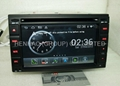 Android wifi headunit car dvd gps for Nissan Universal QASHQAI X-TRAIL Tiida