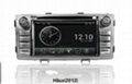 Pure Android headunit car dvd gps for toyota hilux 2012