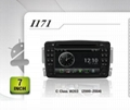 Pure Android headunit car dvd gps for Mercedes C Class W203 (2000-2004)