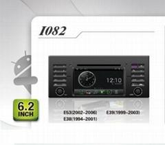 Pure Android headunit car dvd gps for BMW E53 (2002-2006) E59(1999-2003) E38
