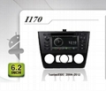 Pure Android headunit car dvd gps for BMW 1series (E8x)2004-2012