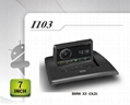 Pure Android headunit car dvd gps for BMW X3(OLD)