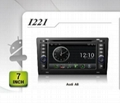 Pure Android headunit car dvd gps for Audi A8