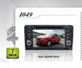 Pure Android headunit car dvd gps for Audi A3(2003-2012)
